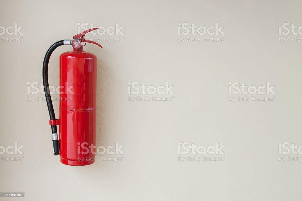 Fire Extinguisher. stock photo