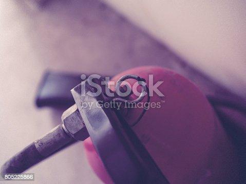 istock Fire extinguisher 805225866