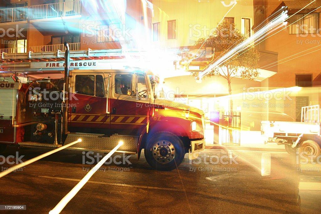 fire fight rescue stock photo