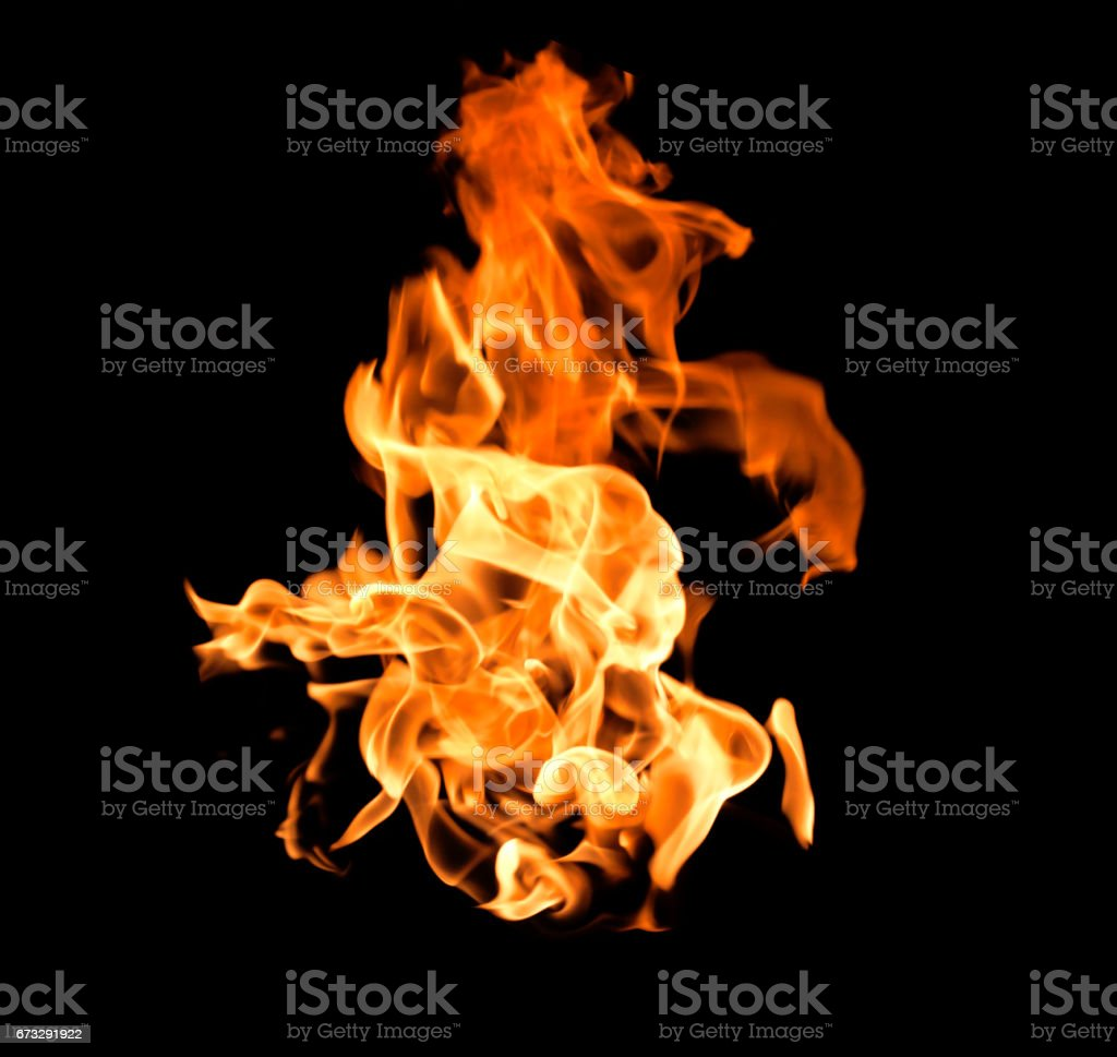 Fire flame heat burning royalty-free stock photo