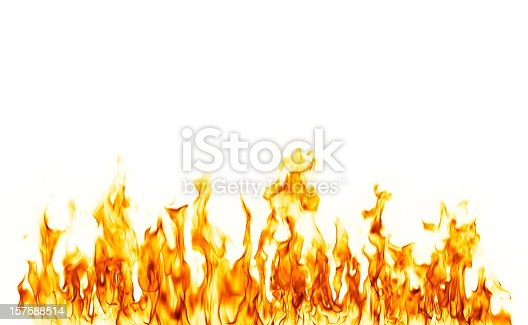 actual photograph of fire flame.