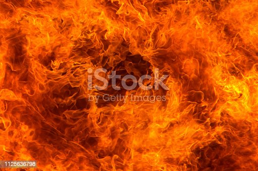 istock Fire flame 1125636798