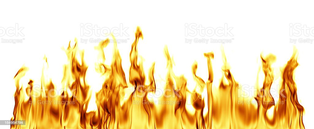 XXXL Fire Flames stock photo