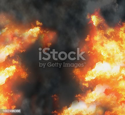 istock fire flames smoke background 3d-illustration 1002496366