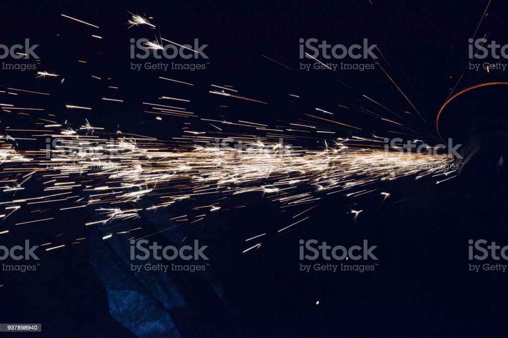 Fire flames with dark background photograph stock photo