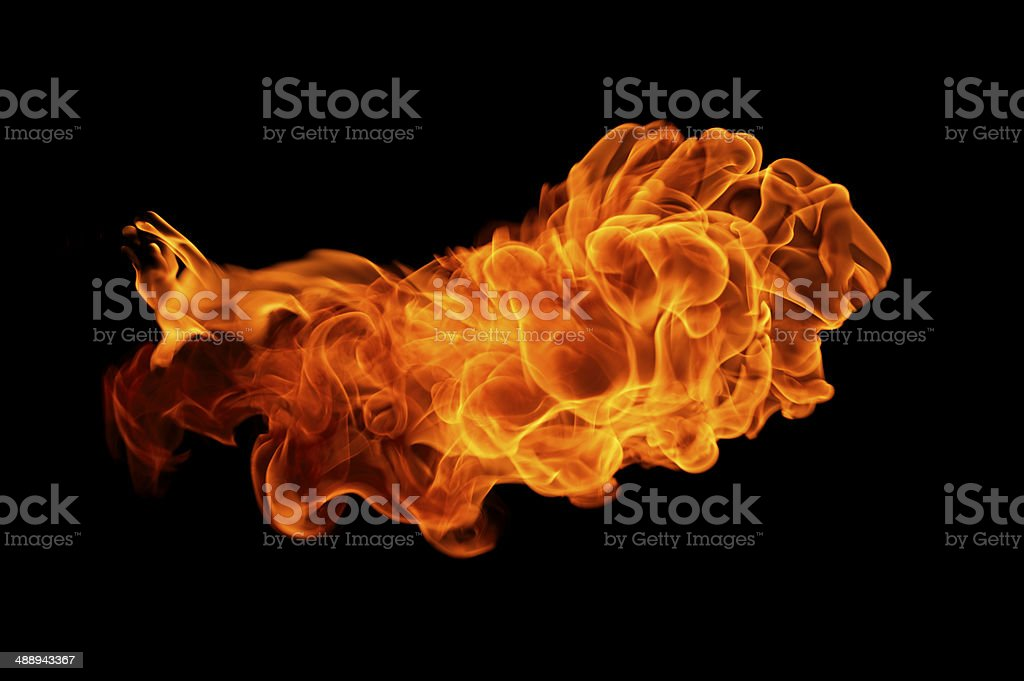 Fire Flash royalty-free stock photo