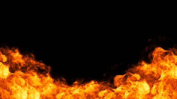 marco de fuego - fuego fotografías e imágenes de stock