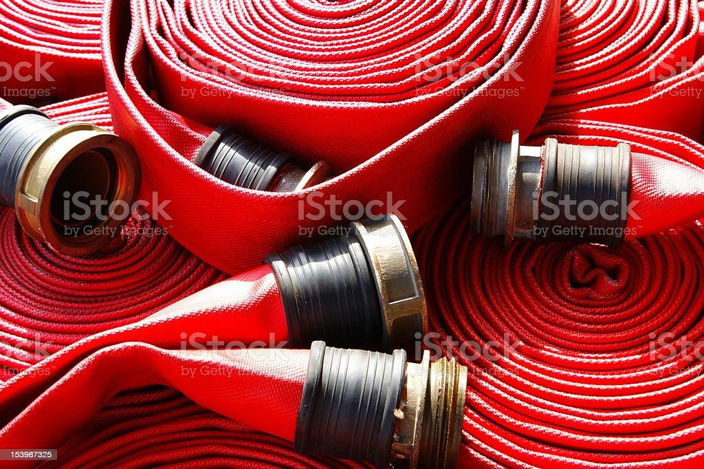 fire Hose stock photo