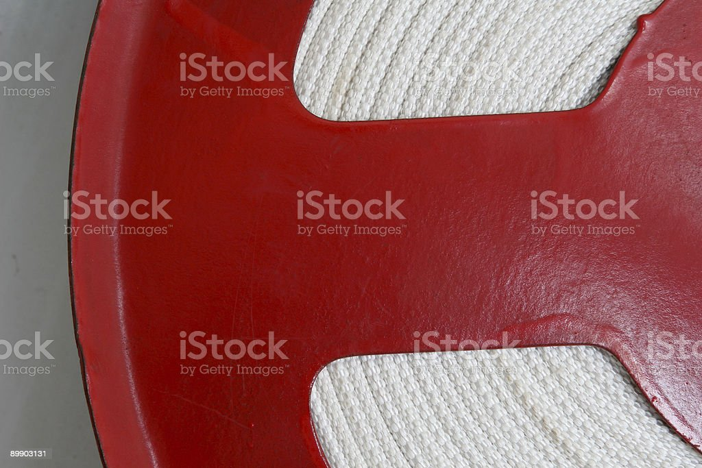 Fire hose royalty-free stock photo