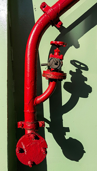 Fire hydrant on board