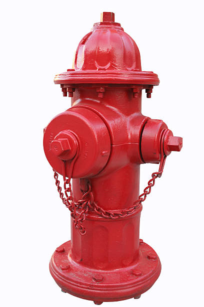 Fire hydrant Isolated picture of a fire hydrant in an american city fire hydrant stock pictures, royalty-free photos & images