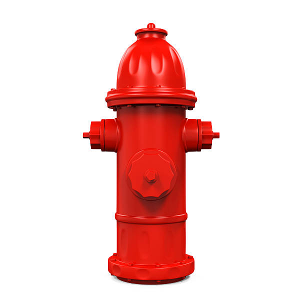 Fire Hydrant Fire Hydrant isolated on white background fire hydrant stock pictures, royalty-free photos & images