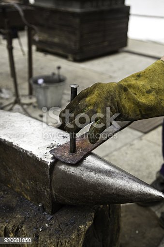 547224670istockphoto Fire in forge 920681850