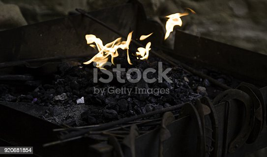 547224670istockphoto Fire in forge 920681854