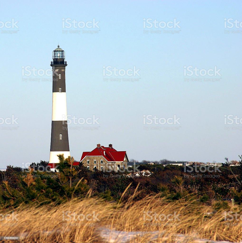 Fire Island Lighthouse royalty-free stock photo