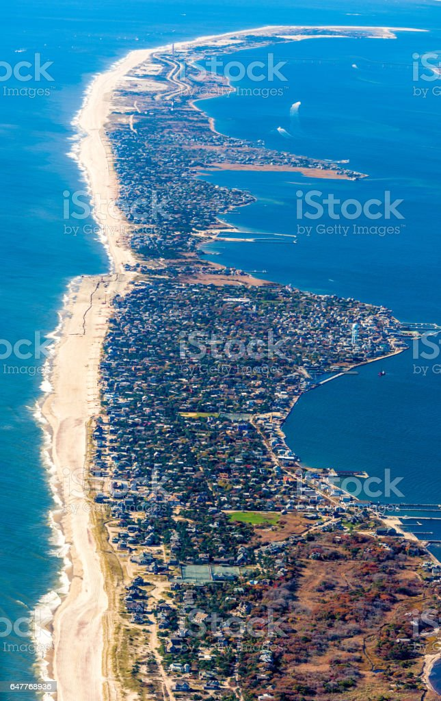 Fire Island National Seashore stock photo