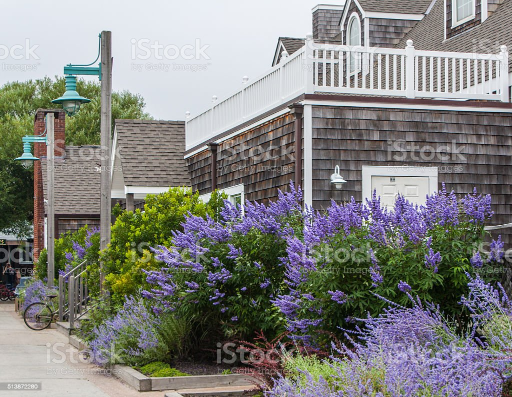 Fire Island - Ocean Beach, NY stock photo