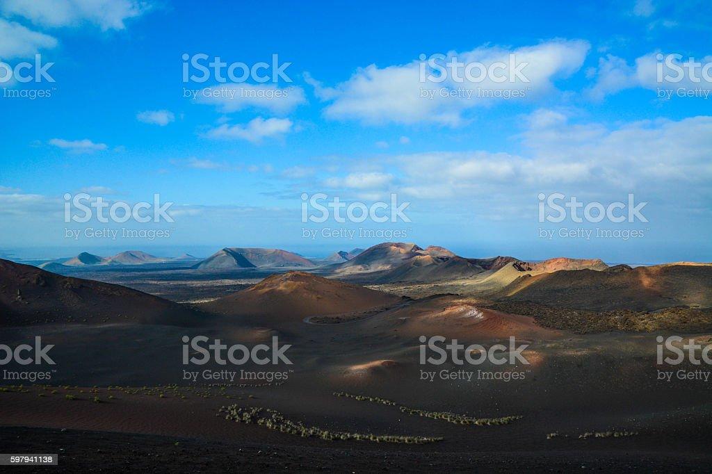 Fire Mountain Lanzarote. foto royalty-free