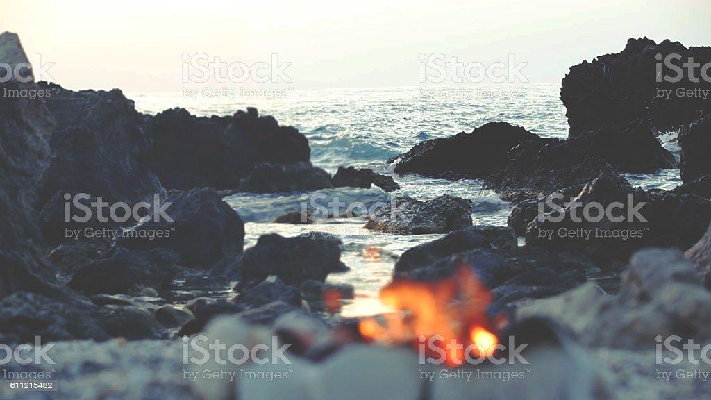 Fire on the Beach圖像檔