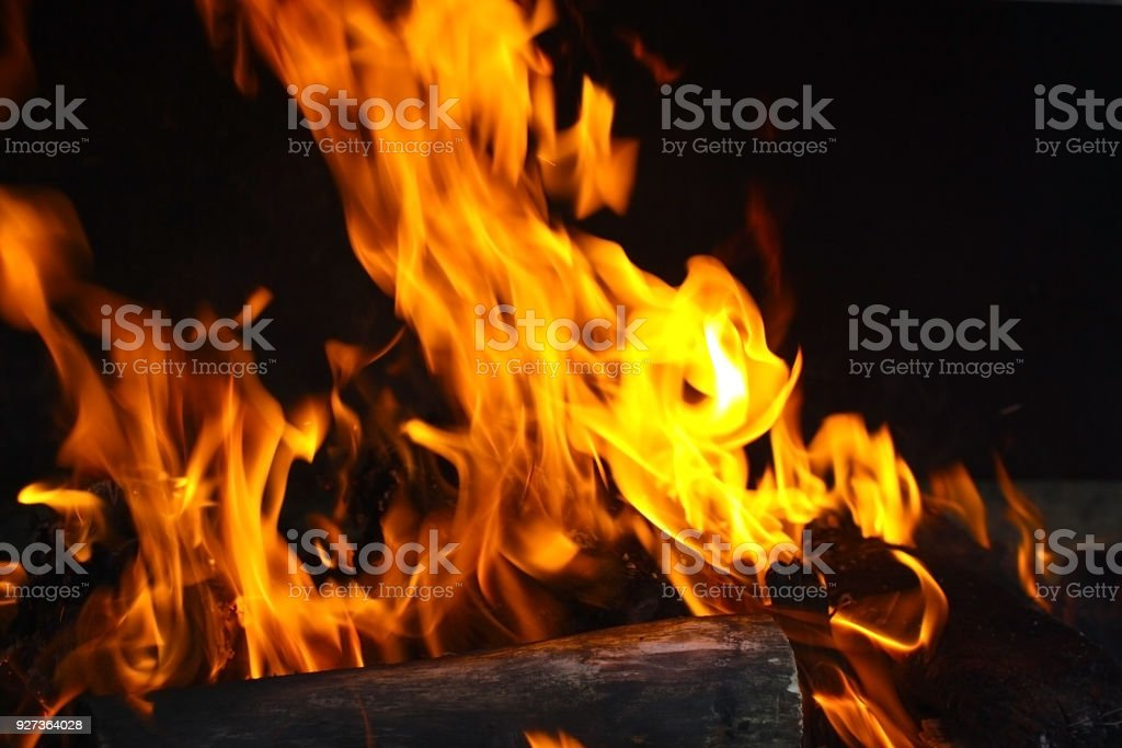 Fire - Royalty-free Bonfire Stock Photo
