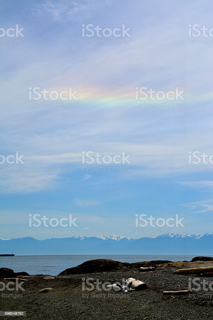 Fire Rainbow royalty-free stock photo