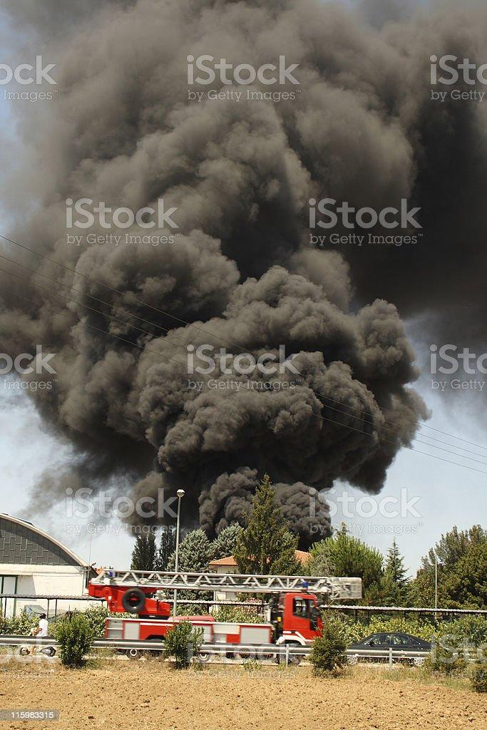 Fire Rescue stock photo