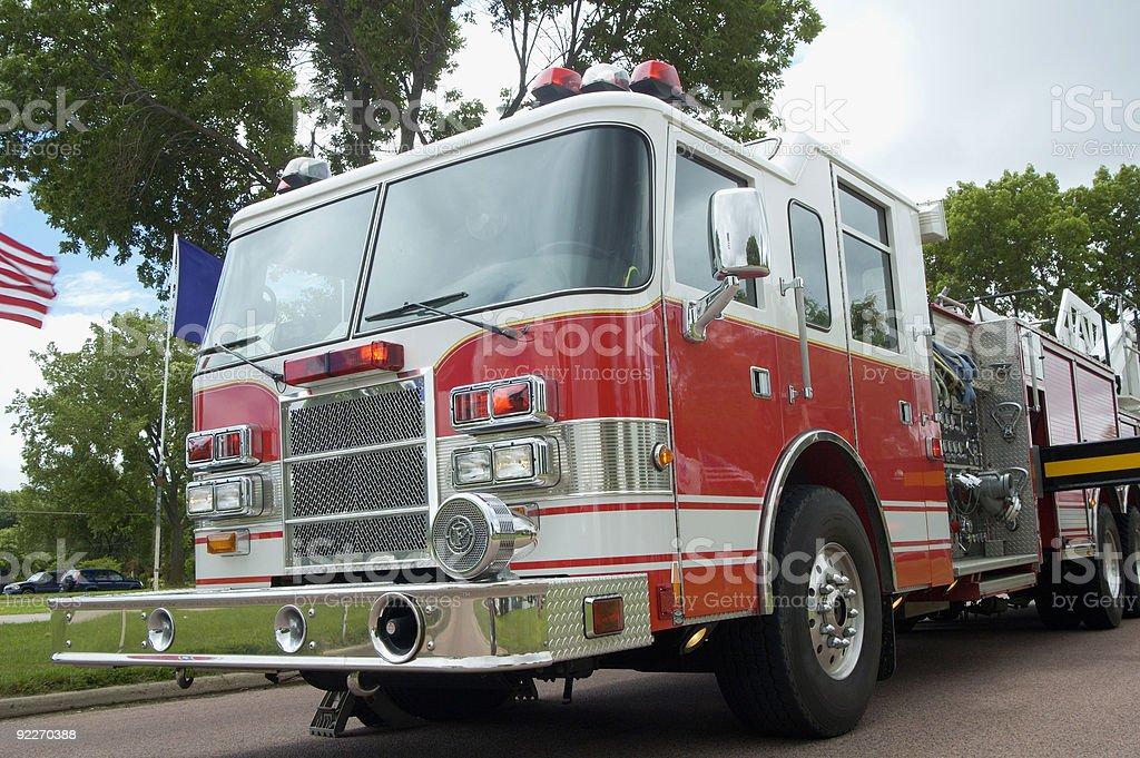 Fire & Rescue stock photo