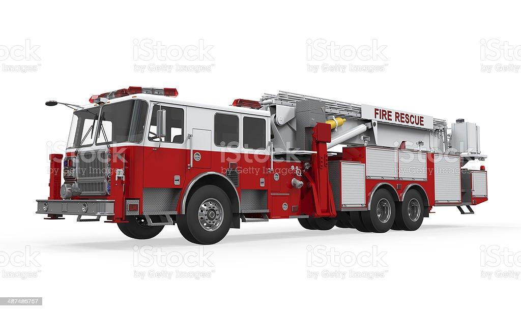 Fire Rescue Truck bildbanksfoto