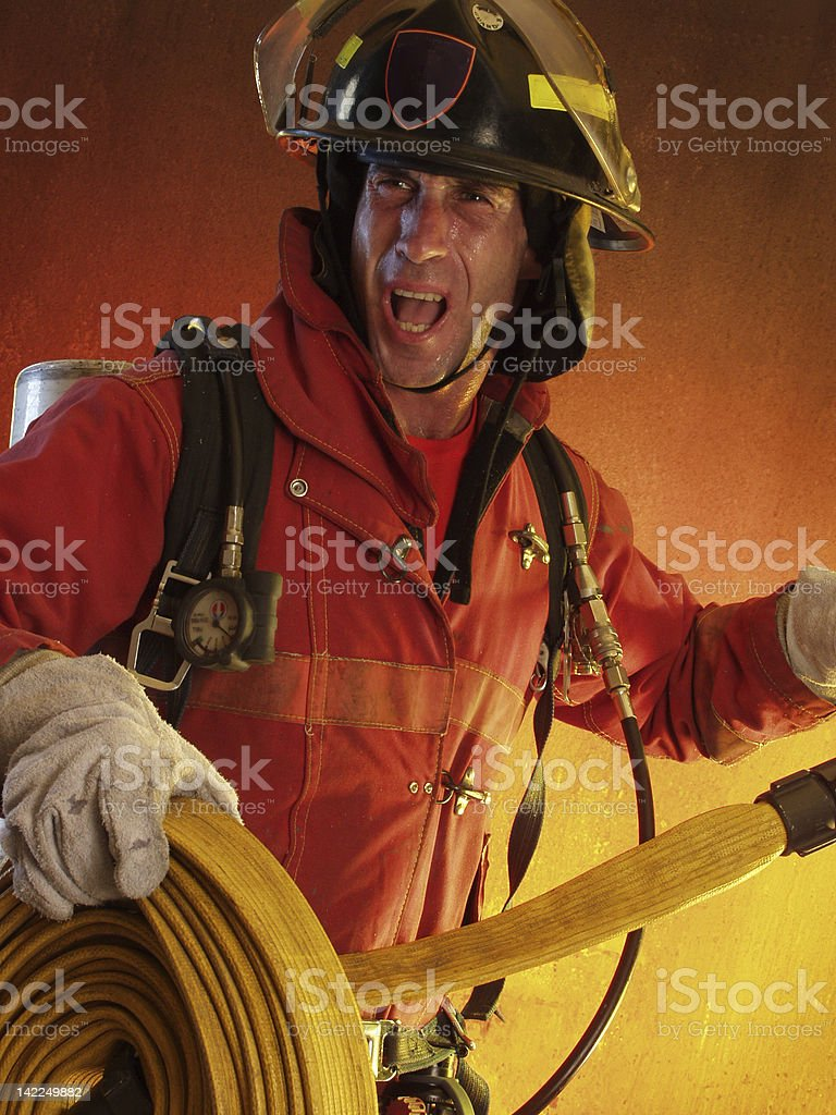 Fire risk. royalty-free stock photo