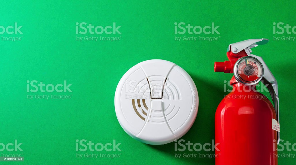 Fire Safety and Prevention stock photo