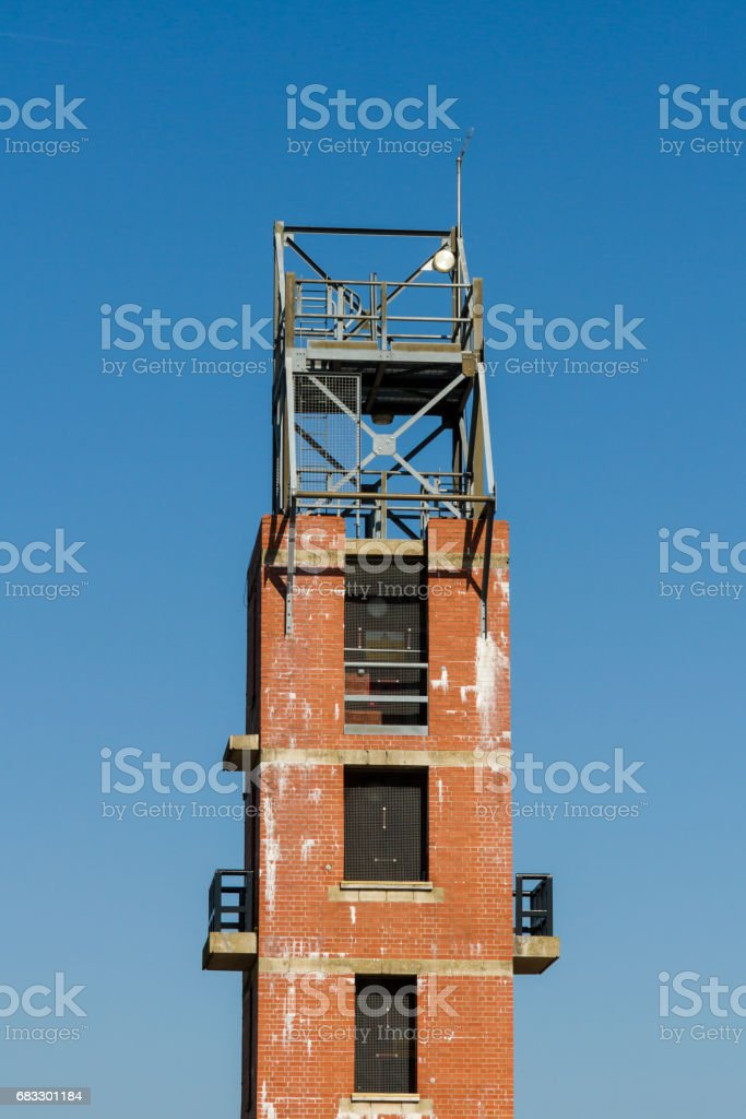 Fire Service Practice Tower foto stock royalty-free