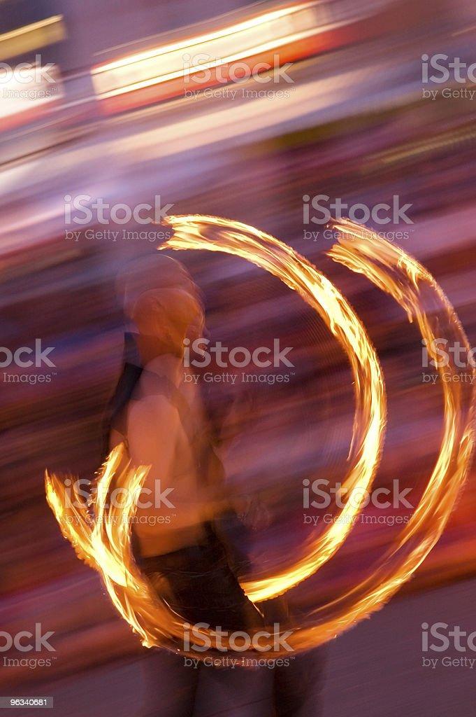 Fire Slinger royalty-free stock photo