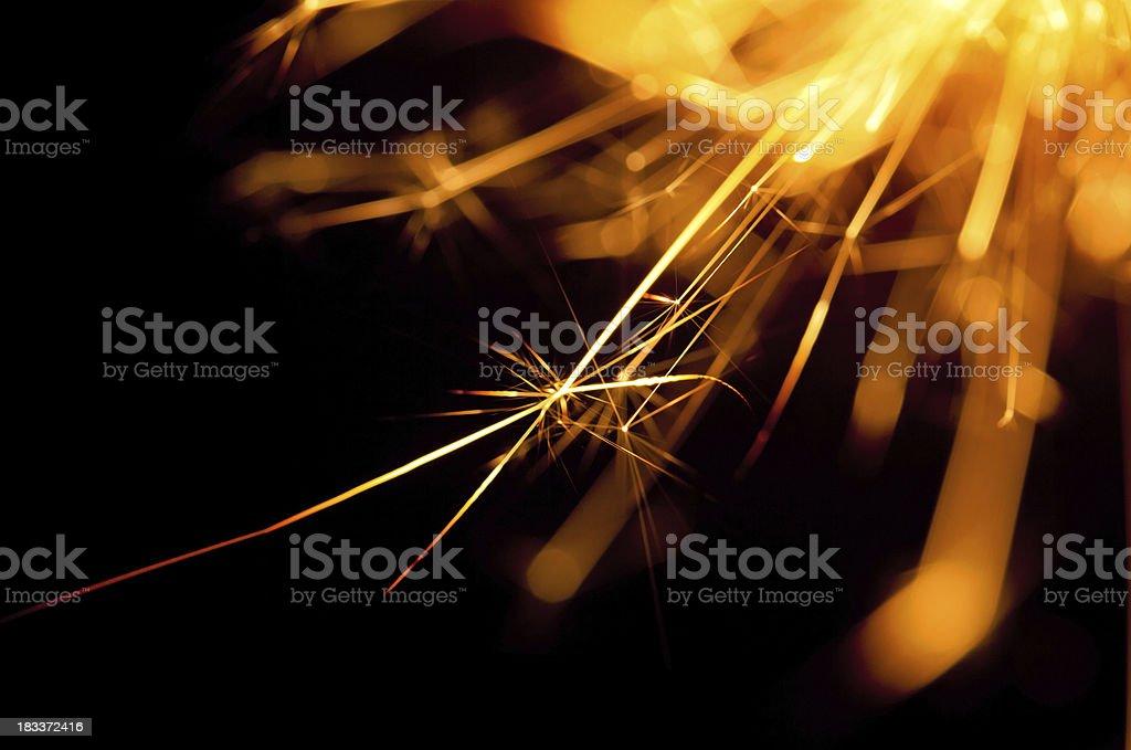 Fire Sparkler royalty-free stock photo