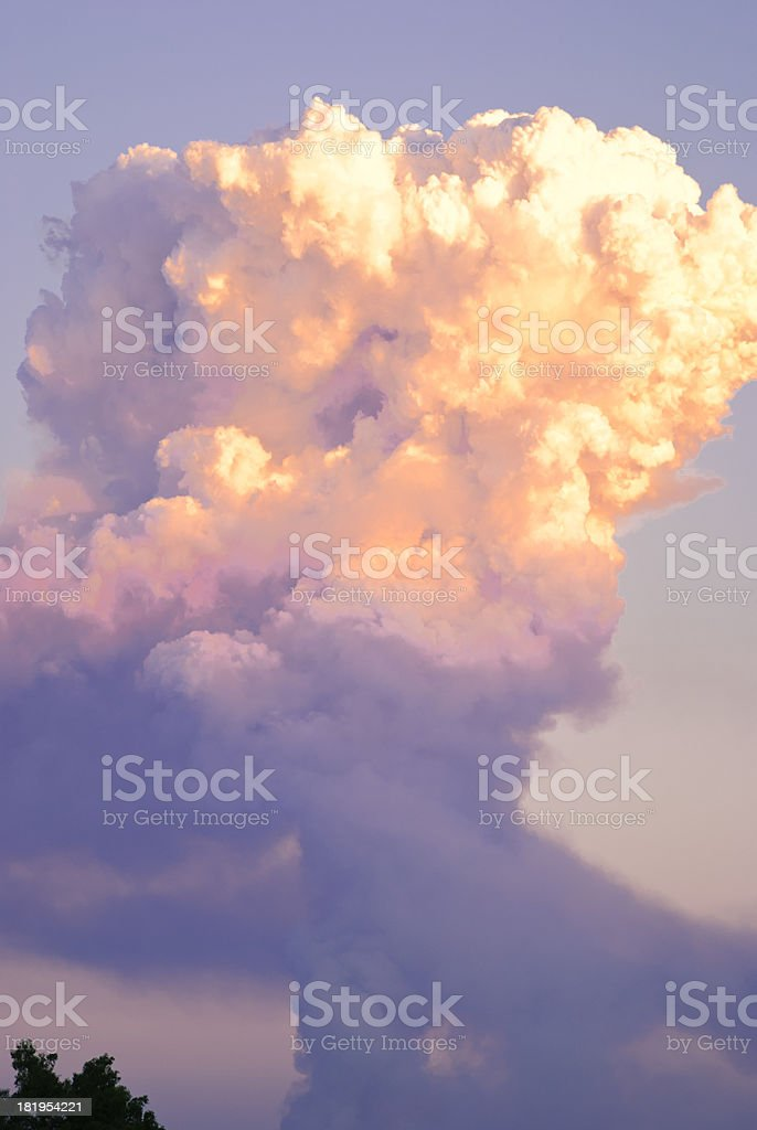 Fire Storm royalty-free stock photo