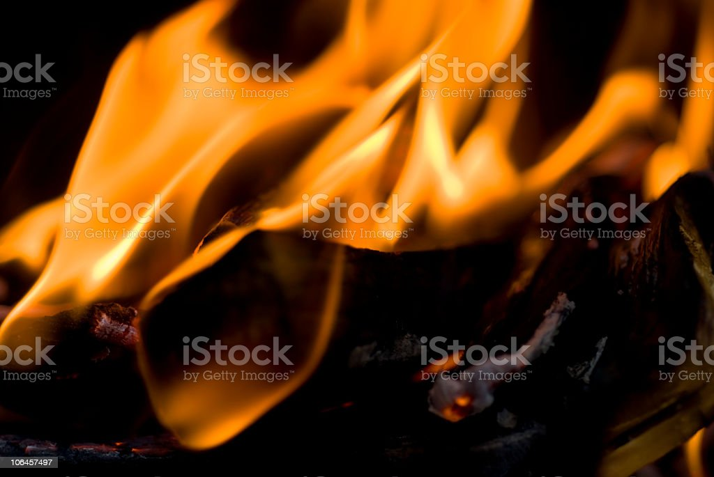 Fire - strong intense heat royalty-free stock photo