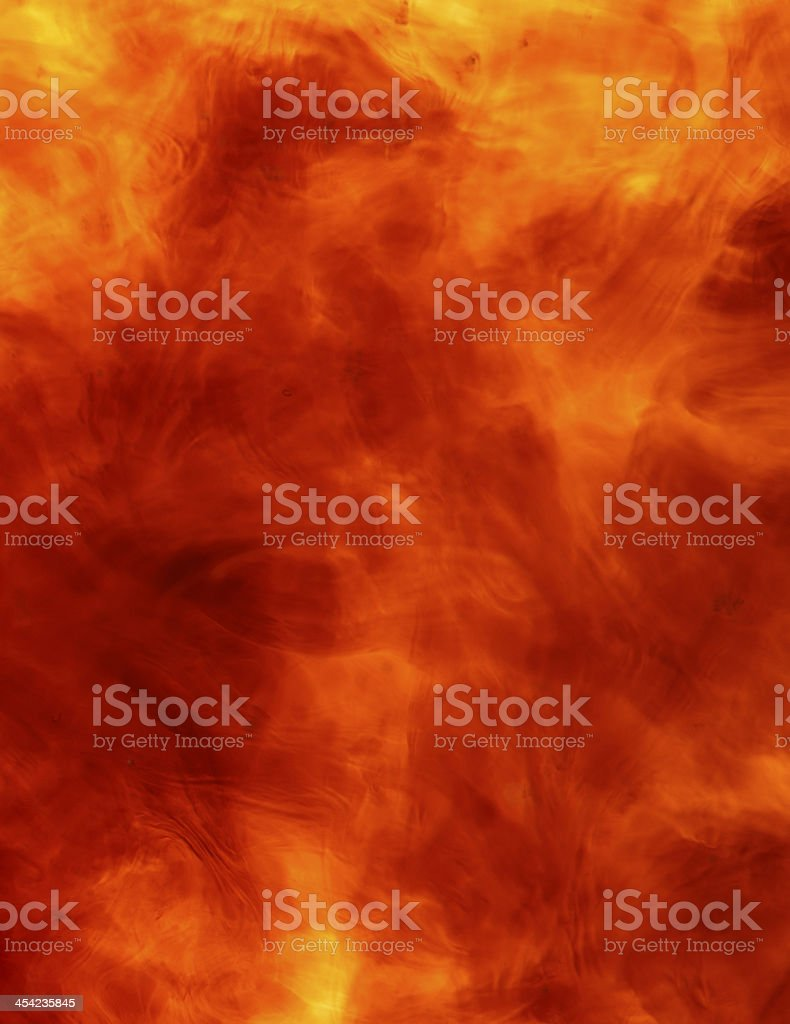 Fire swirl royalty-free stock photo