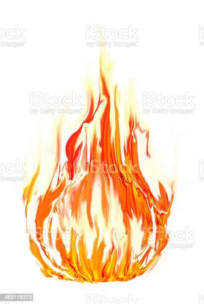Photo of fire symbol