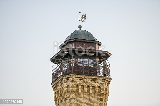 Fire Tower in Lovasbereny,Hungary.The former Fire Tower a cultural centretoday