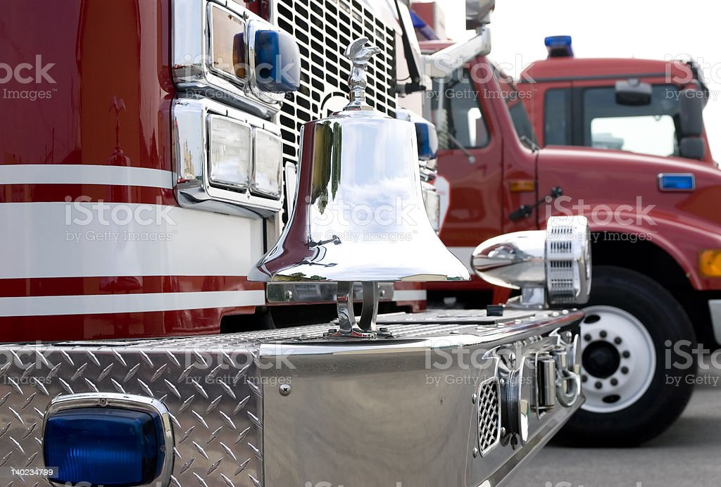 Fire Truck 2 royalty-free stock photo