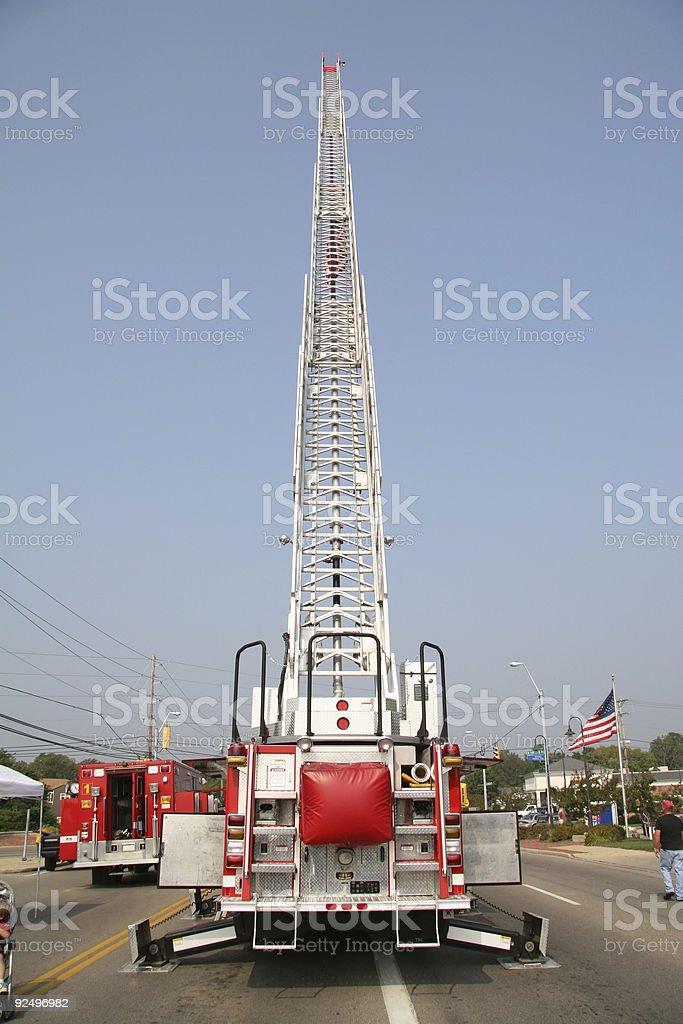 Fire Truck On Display, Beavercreek, Dayton, Ohio royalty-free stock photo