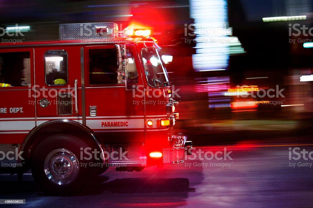Fire Truck bildbanksfoto