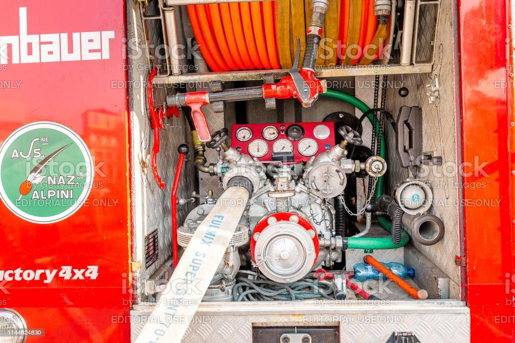 fire truck pumping equipment