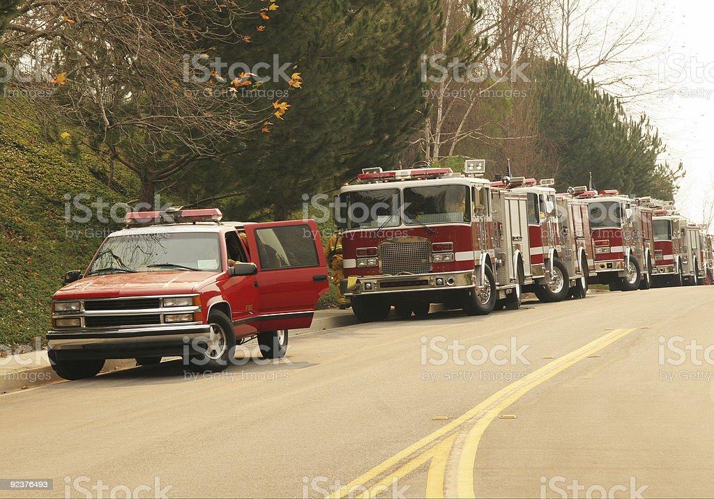 Fire Trucks royalty-free stock photo
