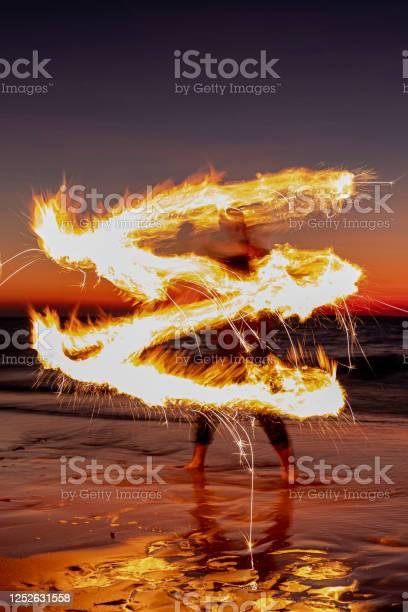 Photo of Fire walker