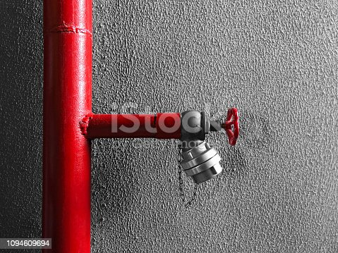 Fire hydrant pipe and pipe connections