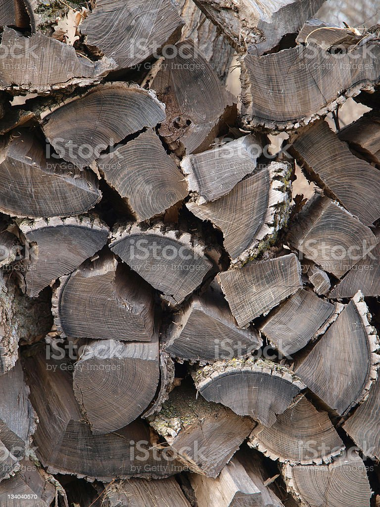Fire Wood royalty-free stock photo