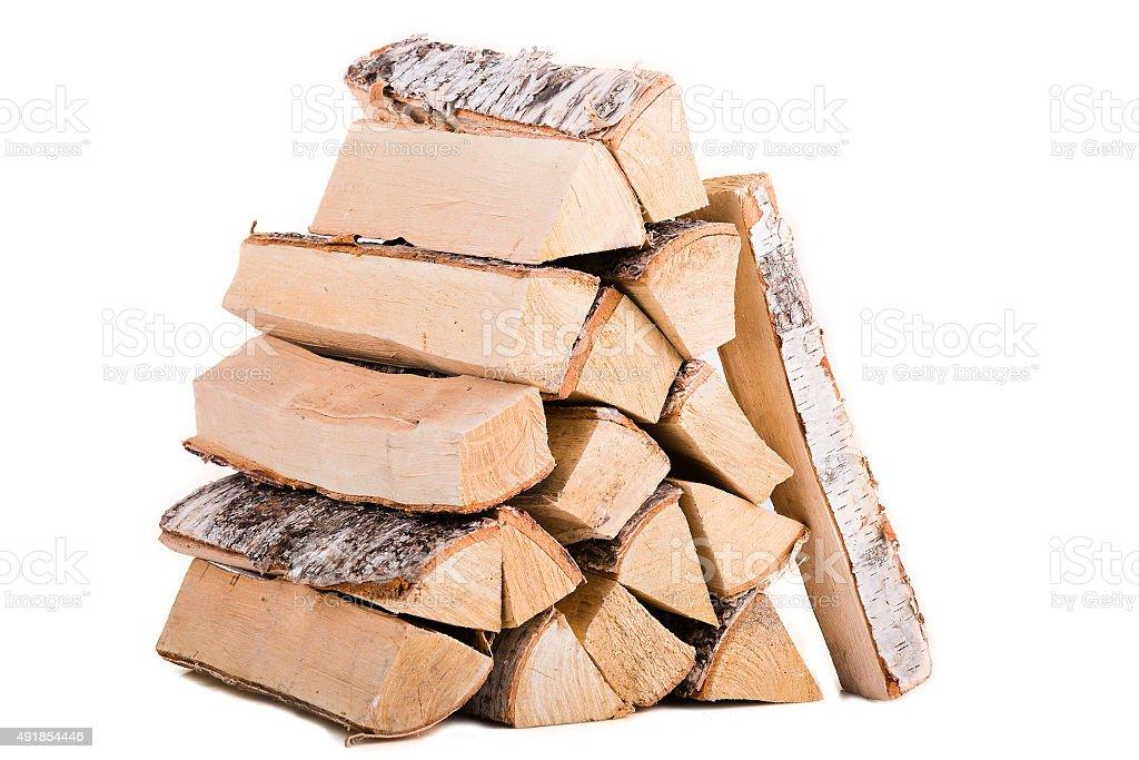 Fire wood stock photo