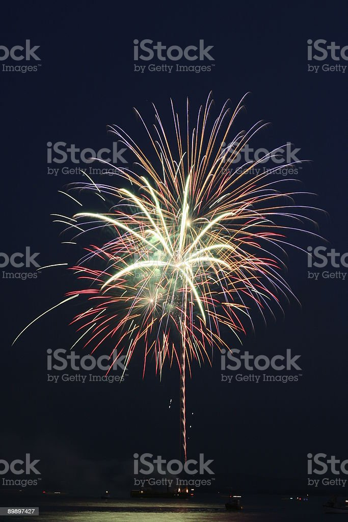 Fire Work - Celebration royalty-free stock photo