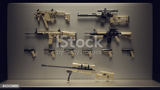 istock Firearms Display 842429680
