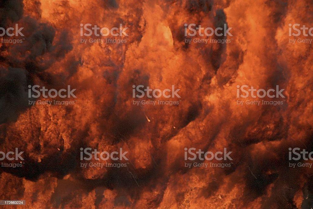 Fireball 2 of 3 royalty-free stock photo